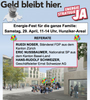 Energiefest am 29. April